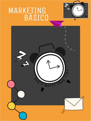 Marketing digital básico con publicaciones orgánicas, boletines electrónicos. Social media planner